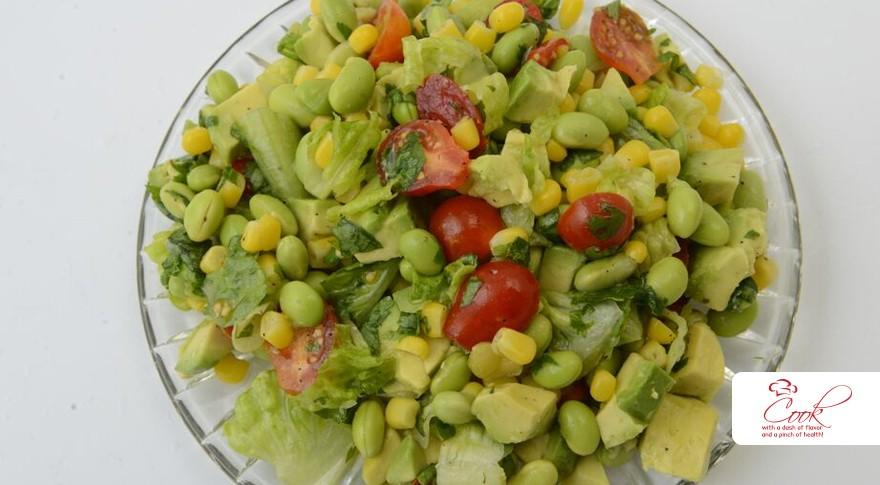 Edamame and Corn Salad - Recipes & More
