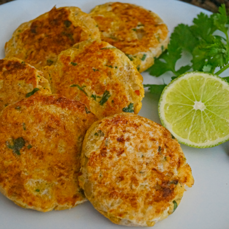 Instant Pot Chicken Shami Kababs