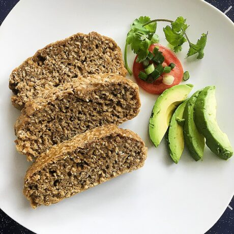 Oatmeal Whole Wheat Bread Without Yeast